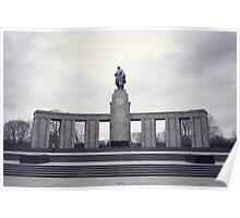 Soviet War Memorial (Tiergarten)  Poster