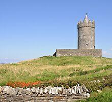 Doolin Castle, County Clare, Ireland by upthebanner