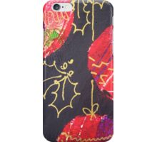 Xmas Card Design 11  iPhone Case/Skin