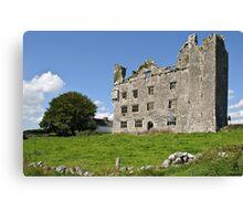 Irish Castle, County Clare, Ireland Canvas Print