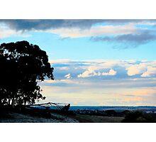 mawson sunset Photographic Print