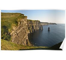 Cliffs of Moher, Sunset, County Clare, Ireland Poster