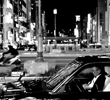 Osaka Taxi Driver by Simon Read