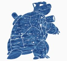 Pokemon: Textured - Blastoise Kids Clothes
