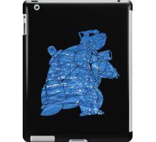 Pokemon: Textured - Blastoise iPad Case/Skin