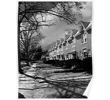 Winchester Townhouses Poster