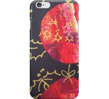 Xmas Card Design 10  iPhone Case/Skin