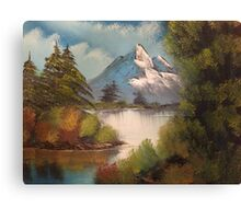 Mountain Waterway Canvas Print