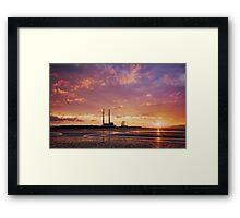 sandymount dawn Framed Print
