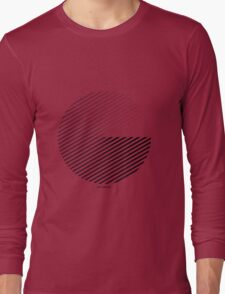 Stripes can be in a disc (BoW) Long Sleeve T-Shirt
