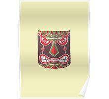 The Polynesian Mask Poster