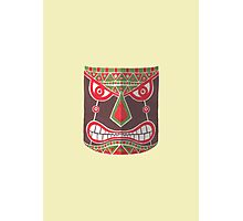 The Polynesian Mask Photographic Print