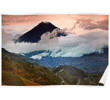 Tungurahua Volcano - Ecuador Poster