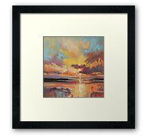 Loch Lomond Sunset Framed Print