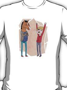 Bojack and Todd HOORAY T-Shirt