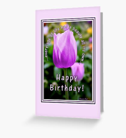 A Tulip for All Ages Greeting Card