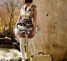 Recycling Fashion Shoot by Sadie Hughes