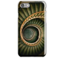 Spiral wooden  staircase iPhone Case/Skin