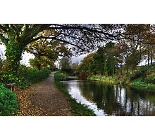 Grand Western Canal at Crown Hill Photographic Print
