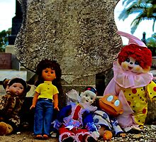 Doll Gravestone Gang by jlara