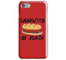 Sandwich of Death iPhone Case/Skin