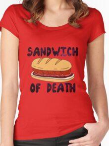 Sandwich of Death Women's Fitted Scoop T-Shirt