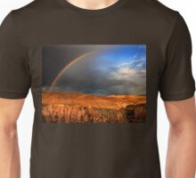 Half rainbow over Ihlara valley Unisex T-Shirt