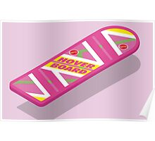 Back to the Future Hoverboard (floating) Poster