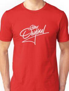Stay Original - White Unisex T-Shirt