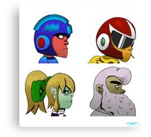 Mega Man X Gorillaz - Demon Days Canvas Print