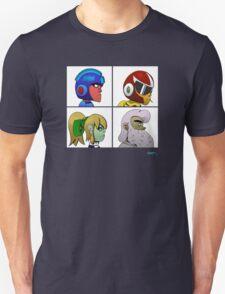 Mega Man X Gorillaz - Demon Days T-Shirt