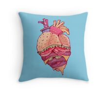 Inner Fast Food Throw Pillow