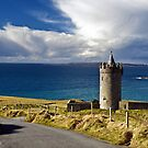 Doolin Irish Castle, County Clare, Ireland by upthebanner