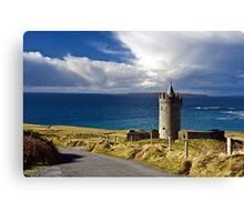 Doolin Irish Castle, County Clare, Ireland Canvas Print