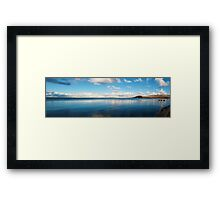 Burren Limestone National Park, County Clare, Ireland Framed Print