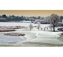 Dromoland Castle Hotel, Winter, County Clare, Ireland Photographic Print