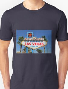 Welcome to Fabulous Las Vegas, Nevada! Unisex T-Shirt