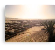 Beautiful Algeria - Rum-Spattered Village Canvas Print