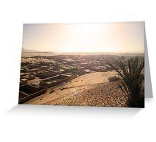Beautiful Algeria - Rum-Spattered Village Greeting Card