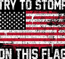 Try To Stomp on this Flag by mericanasfuck