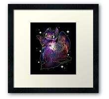 Night Fury Framed Print