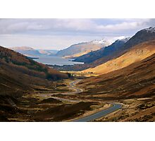 The Road to Loch Maree Photographic Print