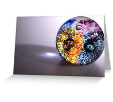 Patterns in Glass Greeting Card