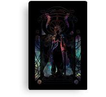 Dragon Mother (Black) Canvas Print