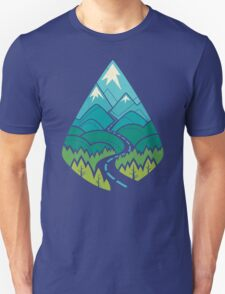 The Road Goes Ever On: Summer T-Shirt