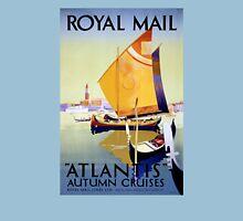 Royal Mail Atlantis Cruise Vintage Poster Restored Unisex T-Shirt
