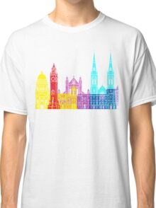 Belfast skyline pop Classic T-Shirt