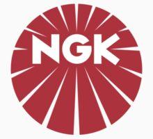NGK Spark Plugs Logo by dylansisland