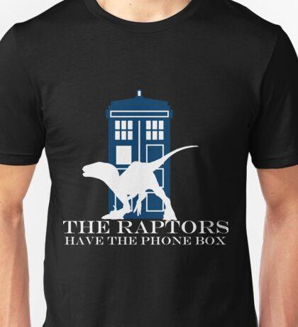 The raptors have the phone box Unisex T-Shirt