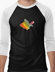 Rainbow fish Men's Baseball ¾ T-Shirt